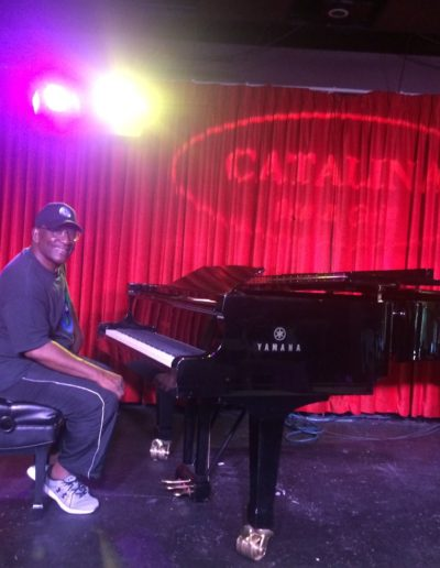 Mike Boyd at Catalina Jazz Club Sound Check